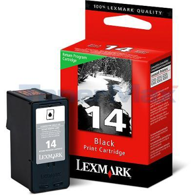 LEXMARK Z2300 RP NO 14 PRINT CARTRIDGE BLACK